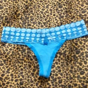 NWOT Aerie Brand Lace Trim Thong Panties